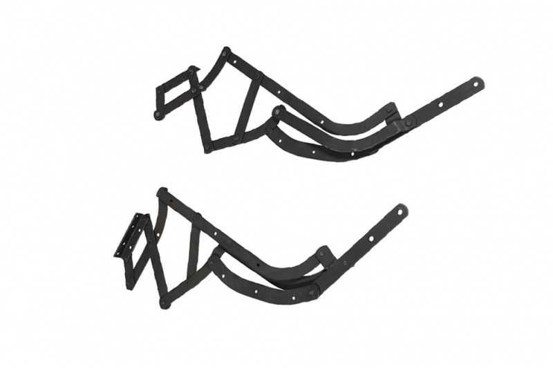 Sistema de reclinar tipo Poltrona do Papai