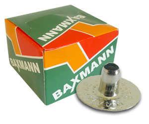 Botão de pressão 100 niquelado - cx com 200 peças