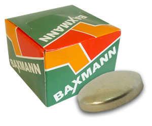 Botões de forrar em ferro marca Baxmann