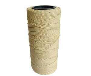 Cordone com cera 100% poliester - Vendido nas cores: Preto ou Branco
