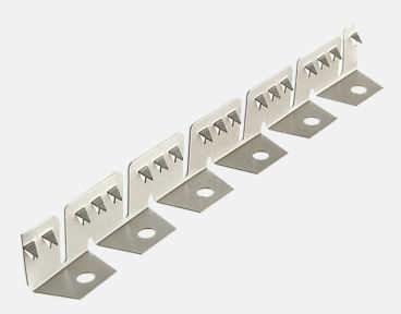 Flex Trim - Fita de Aço Galvanizado para Fechamento - Vem em bobinas de 30 mts.