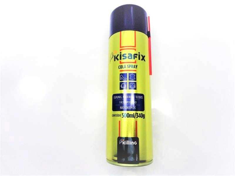 Adesivo Spray Kisafix - tubo com 340 gramas / 500 ml