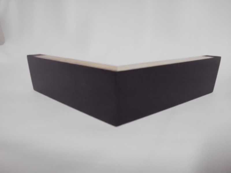 Pé de madeira Cantoneira de 3cm / 5cm ou 8cm